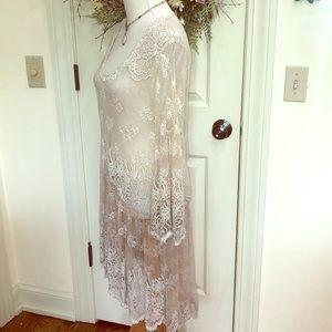 Antica Sartoria Lace Shirt/Dress